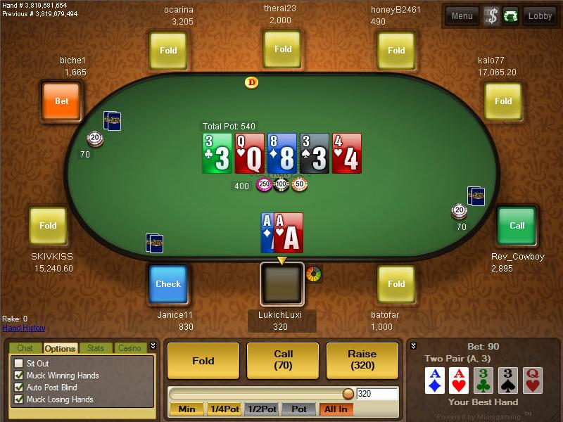 Blackjack deck number